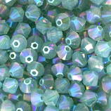 5328 Bicone (50) - 4mm Pacific - Opal Shimmer 2x