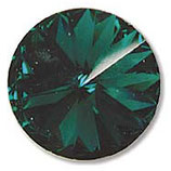 1122 Swarovski (4) - 6mm Emerald