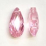 CZ Tropfen (2) - 6x12mm, pink
