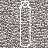 Metal Seed Beads 8/0 - Versilbert