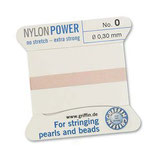 Nylon hellrosa - No. 0