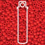 Miyuki Rocailles 6/0 - Opaque Red (408)