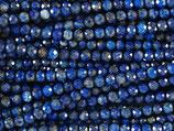 Mineralien·Perlen (1S) - Lapis Lazuli ungefärbt - facettiert ~2.4mm