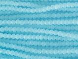 Fac. Rundperlen (1S) - 3mm Lt. Blue - Turquoise Opal 31603