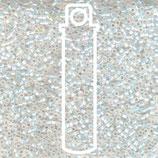 Miyuki Delicas 15/0 - White Opal - AB (222)