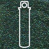 Miyuki Delicas 15/0 - Transparent - Emerald AB (175)