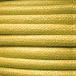 Baumwolle 0.7mm - gewachst Gelb