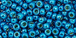 Toho 8/0 - Permafinish - Galvanized Caribbean Blue (PF583 †‡)