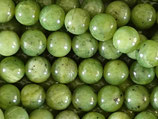 Mineralien·Perlen (1S) - Kanadische Jade - glatt 8.4mm