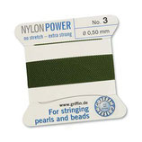 Nylon olive - No. 3