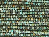 Mineralien·Perlen (1S) - Afrikanischer Türkis - facettiert ~2.6mm (870848)