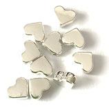 Perlen Mini Herz (2) - 6x7mm