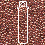 Metal Seed Beads 6/0 - Reines Kupfer