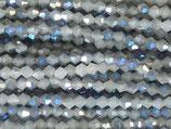 Doppelkegel (1S) - 3mm Labradorite 31957