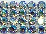 40001 Swarovski (40) - Light Sapphire - Shimmer / Silber