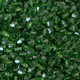 5328 Bicone (50) - 4mm Fern Green
