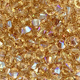5328 Swarovski (50) - 4mm Lt. Colorado - Topaz Shimmer