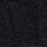 Miyuki Delicas 11/0 - Black Matte (310·B)