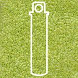Miyuki Delicas 15/0 - Chartreuse Matte - AB (860)