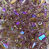 50 Stk. Light Amethyst Shimmer 2x 4mm
