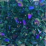 50 Stk. Blue Zircon Shimmer 2x 4mm