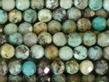 Mineralien·Perlen (1S) - Afrikanischer Türkis - facettiert ~3.5mm (870849)