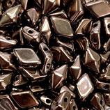 50 Stk. Opaque Jet Dark Bronze