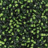 Jade Green Silver Lined (0182) - 15/0 - 2.5g