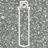 Miyuki Drops 2.8mm - Transparent Crystal - Silver·Lined (1)
