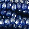 Rondellen (1S) - 2x3mm Purple Blue