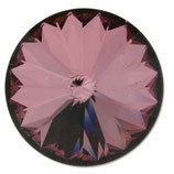 1 Stk. Crystal Antique Pink Foiled 12mm