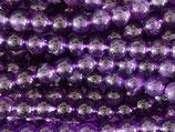 Mineralien·Perlen (1S) - Amethyst - glatt 8.7mm