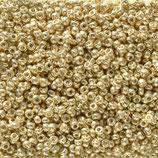 Miyuki Rocailles 11/0 - Pale Gold (5101·B)