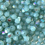 5328 Bicone (50) - 4mm Pacific - Opal Shimmer