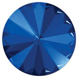 1 Stk. Crystal Majestic Blue Foiled 12mm