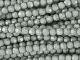 Fac. Rundperlen (1S) - 4mm Opaque Grau