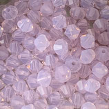 5328 Bicone (50) - 3mm Rose Water - Opal