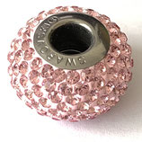 1 Stk. Swarovski Light Rose 14 mm (80101)