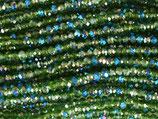 Rondellen (1S) - 2x3mm Nil Green 31968