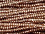 Mini Rondellen (1S) - 1.7x2.5mm Mozart - Brown 31356
