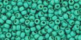 Toho Rocailles 11/0 - Permafinish Galvanized - Matte Green Teal - (PF561F †‡)