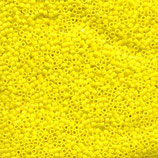 Miyuki Delicas 11/0 - Opaque Yellow Matte (751·B)
