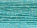 Mineralien·Perlen (1S) - Amazonit - facettiert ~2.2mm (870855)