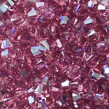 5328 Swarovski (50) - 4mm Rose - Shimmer