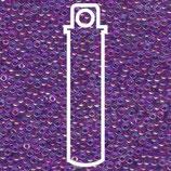 Miyuki Rocailles 11/0 - Fuchsia Lined - Aqua AB (352)