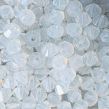 5328 Bicone (50) - 3mm White Opal