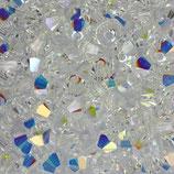 5328 Bicone (50) - 3mm Crystal AB