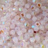 5328 Swarovski (50) - 4mm Rose Water - Opal Shimmer