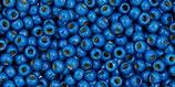 Toho Rocailles 11/0 - Permafinish Galvanized - Matte Ocean Blue - (PF585F †‡¤)