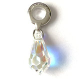 1 Stk. Swarovski Tropfen Crystal AB 12mm (87001)